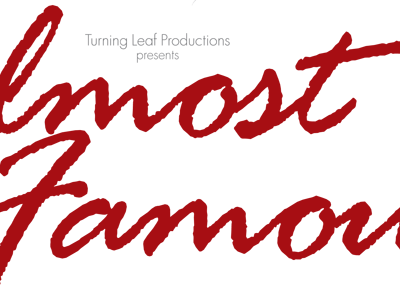 Almost Famous poster design