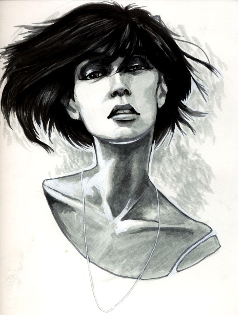 Hurricane Irene Sketch
