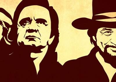 Outlaw Jamboree promo poster design